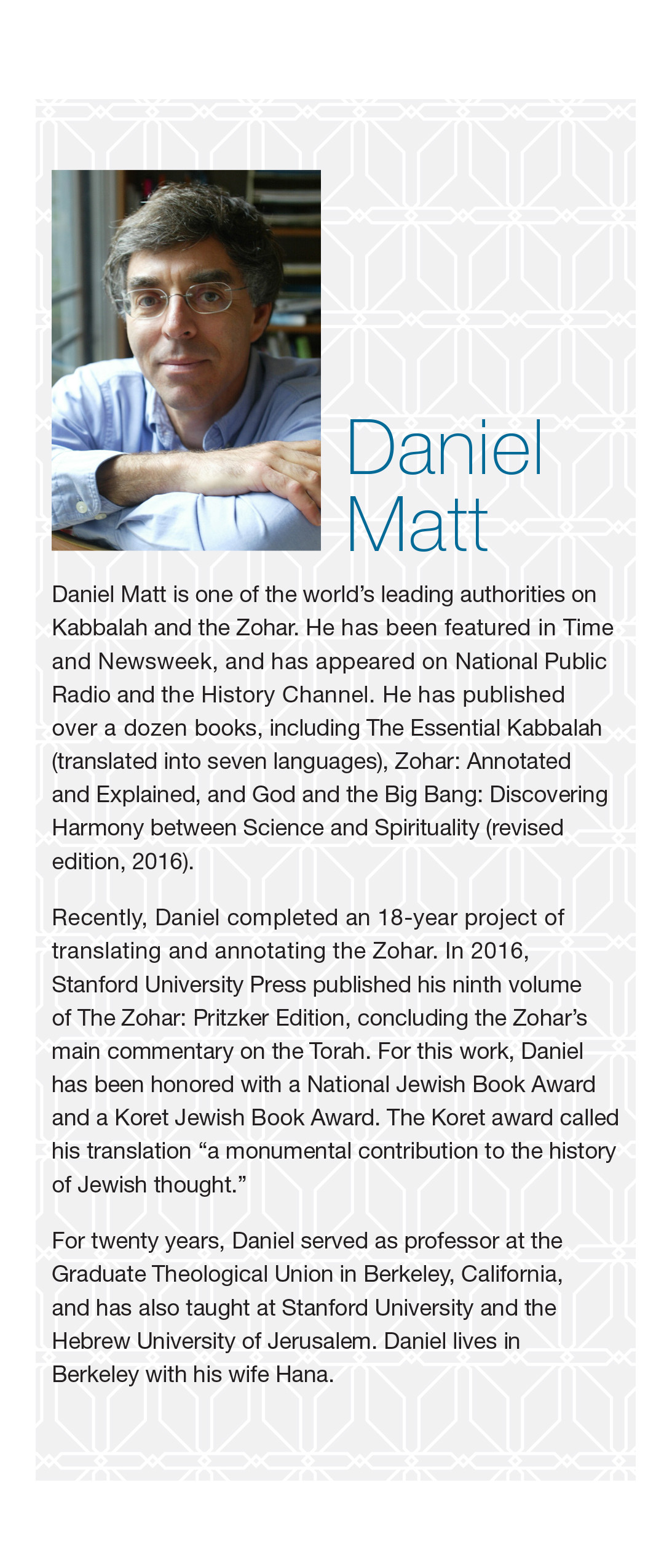 Zohar complete set | translated by daniel c. Matt.