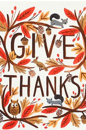 November give thanks. True gratitude redeemer presbyterian