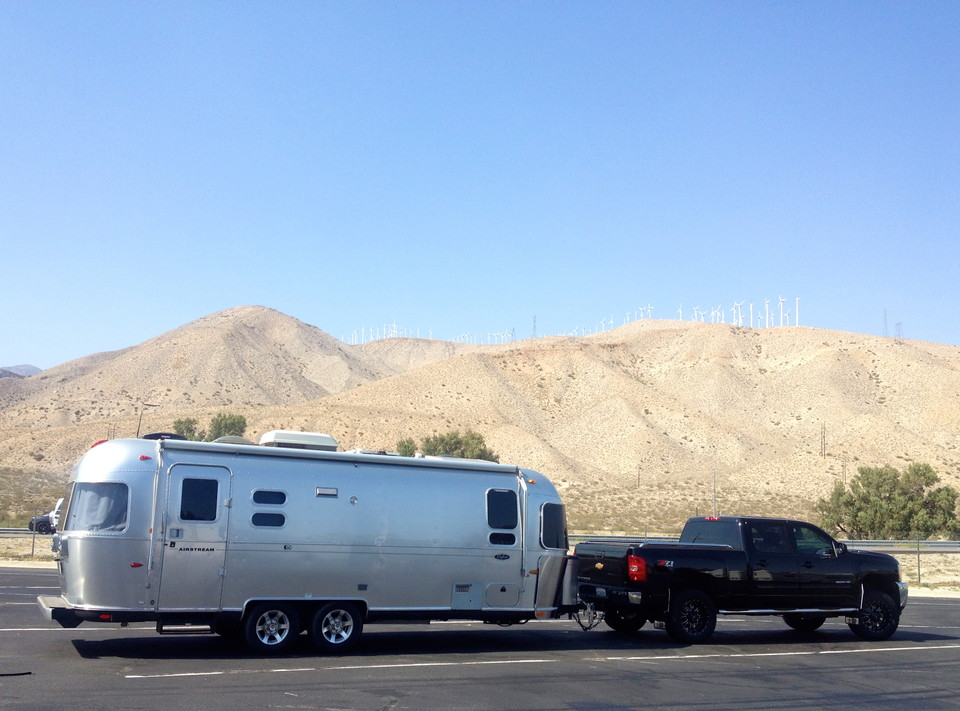 Chevy 2500HD | Southern California Airstream Rentals
