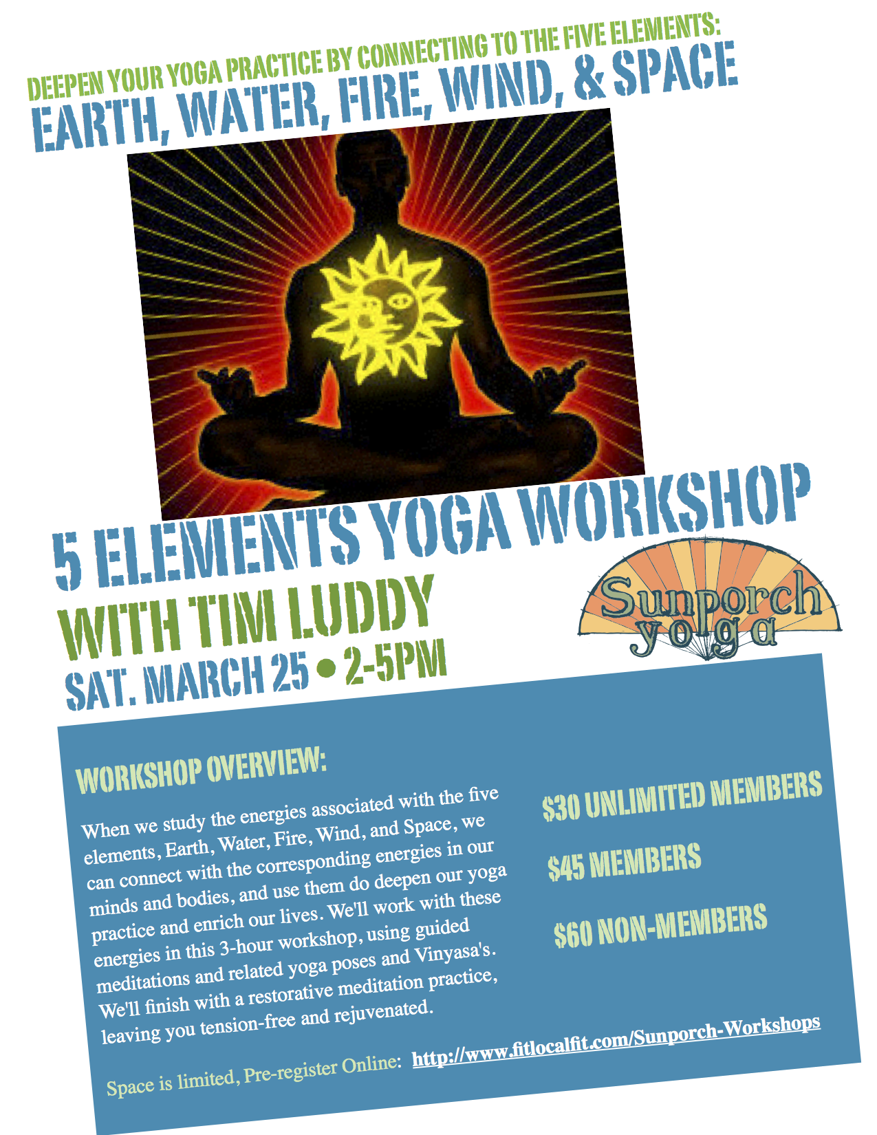 Five Elements Workshop