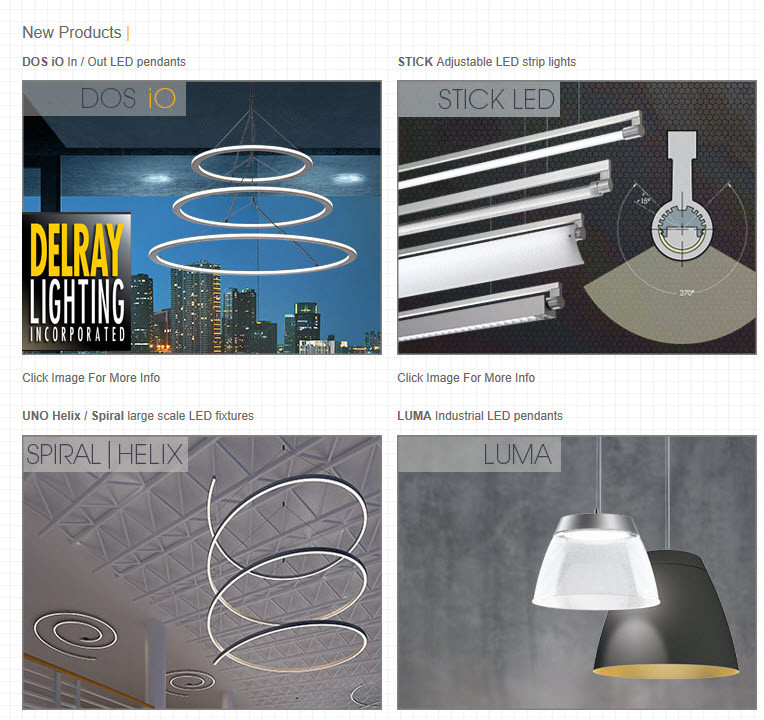 Delray Lighting New Products 16500